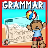 Summer Speech Therapy   Grammar Worksheets   Syntax