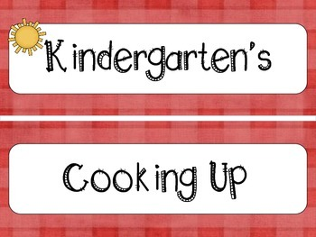 """Grilling Themed """"Cooking Up Something Good"""" and other Bulletin Board sayings K-5"""