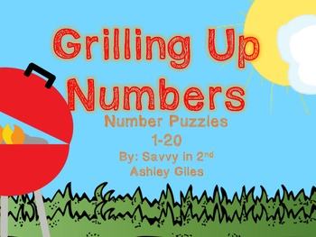Grilling Up Numbers Puzzles (1-20)