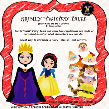 """Grimly """"Twisted"""" Tale Snow White and the 7 Dwarves"""