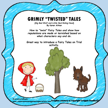 Grimly Twisted Tales Big Bad Wolf and Little Red Riding Hood