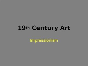 Grimm: Impressionism Powerpoint