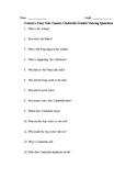Grimm's Fairy Tale Classics Cinderella Questions and Yeh Shen Comparison