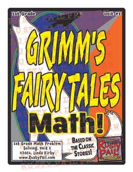 Grimm's Fairy Tales - 1st Grade Math Problem Solving – Month 1