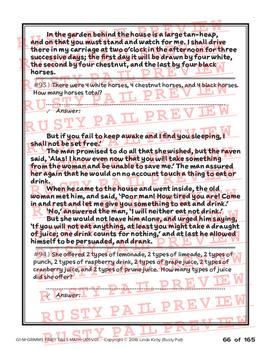 Grimm's Fairy Tales - 1st Grade Math Problem Solving – Part 5