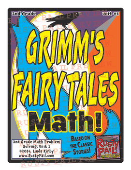 Grimm's Fairy Tales - 2nd Grade Math Problem Solving – Parts 1-11, 185 problems