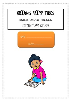 Grimm's Fairy Tales- Snow White & Rose Red Comprehension HIGHER ORDER THINKING
