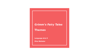 Grimm's Fairy Tales Themes