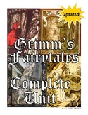 Grimm's Fairytales Complete Unit (bundled & newly updated & expanded)