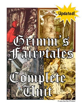 Grimm's Fairytales Unit (bundled)