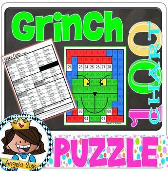 Grinch - 100s chart clues
