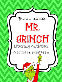 **EDITABLE** Grinch Activities