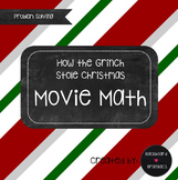 Grinch Movie Christmas Problem Solving Math