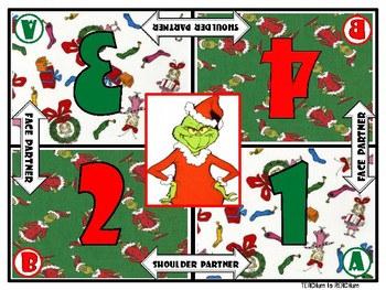 Grinch Cooperative Learning Mats