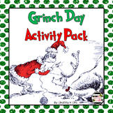 How the Grinch Stole Christmas   Grinch Day Activity Pack