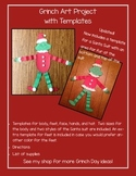 Grinch Day Art Project with Templates