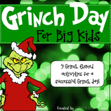 Grinch Day For Big Kids