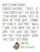 Grinch Day Letter