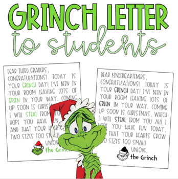 grinch day letter grinch day letter
