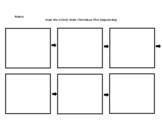 Grinch Day Plot Sequencing Activity and Graphic Organizer