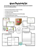 Grinch Day Unit Bundle of Activities Art, Writing, Comprehension, and Math