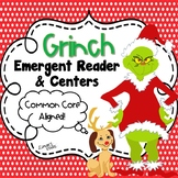 Grinch Emergent Reader & Centers {Christmas}