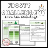 Frosty the Snowman Activity - Holiday Escape Room for ELA