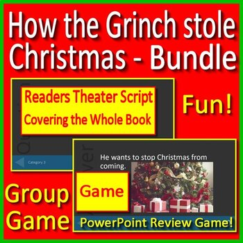 grinch game how the grinch stole christmas game jeopardy style powerpoint - How The Grinch Stole Christmas Games