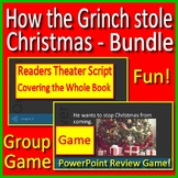 Grinch Game How the Grinch Stole Christmas Game Jeopardy Style PowerPoint