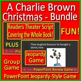 A Charlie Brown Christmas Readers Theater AND Jeopardy Style Game
