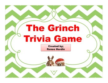 Grinch Games for the holidays