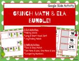 Grinch Google Slides ELA & Math Bundle!!  Place Value, Vow