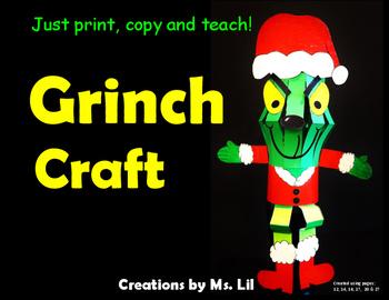 Grinch :: Grinch Activities :: Grinch Crafts :: Grinch Lantern :: Grinch Day