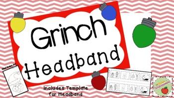 Grinch Headband