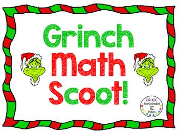 Grinch Math Scoot!