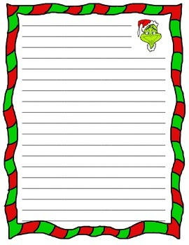 Grinch Opinion Writing