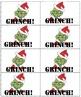 Mr Mean Green Christmas! Palabras de alta frecuencia/Sight