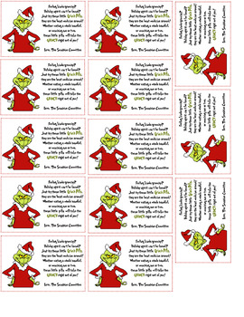 Sizzling image pertaining to grinch pills printable