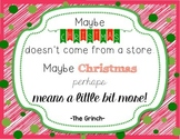 Grinch Quote Poster