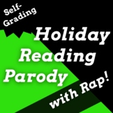 Grinch Virtual Synonyms and Antonyms Google Classroom Read