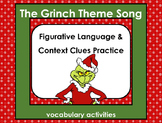 Grinch Vocabulary Activities