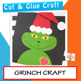 Grinch's Heart Craft - Christmas Craftivity
