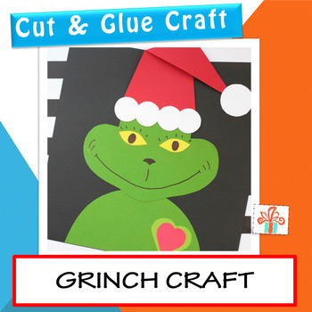 Grinch Craft - Christmas Craft Activity