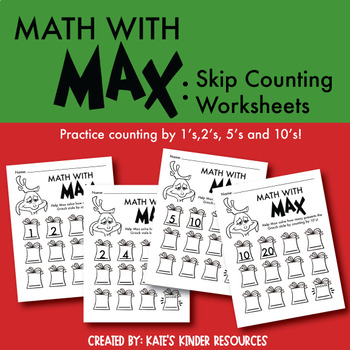 Grinchmas: Math with Max Skip Counting
