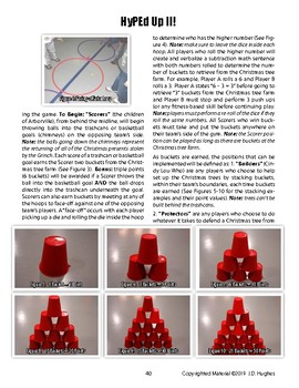 Grinchmas PE Game of Cup Stacking, Throwing, Bowling & Strategy