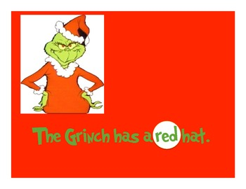 Grinchy Adjectives