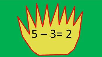 Gringerbread Subtraction Game