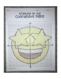 Grinning Face with Star Eyes Emoji (Graphing on the Coordinate Plane)