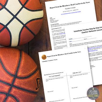 Nonfiction Close Reading Lesson on Hot Topics: Acceptable Coach Behavior