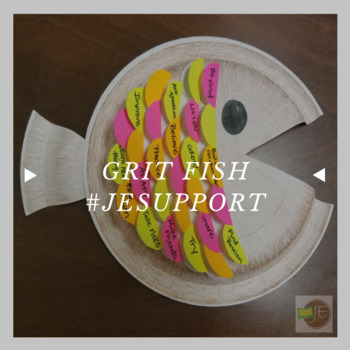 Grit Fish - A Grit and Growth mindset Craft Activity